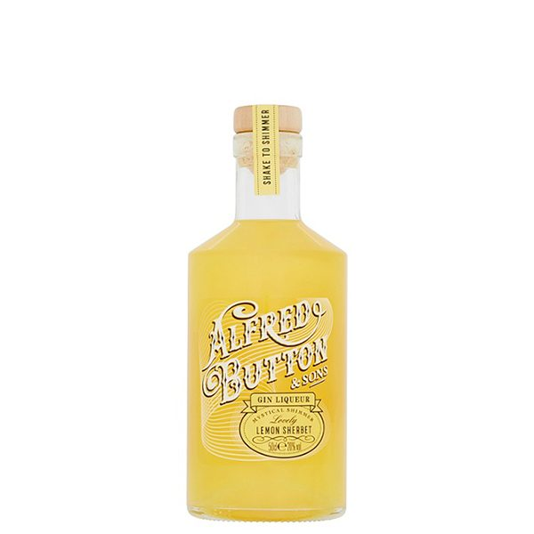 Alfred Button Lemon Sherbet Gin 50cl