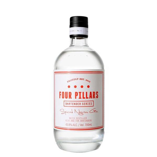 Four Pillars negroni gin