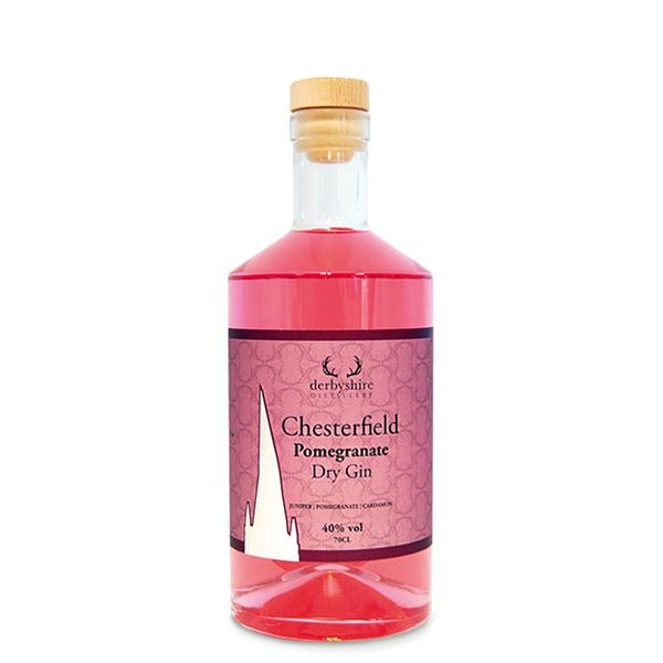 Chesterfield Pomegranate Gin 70cl